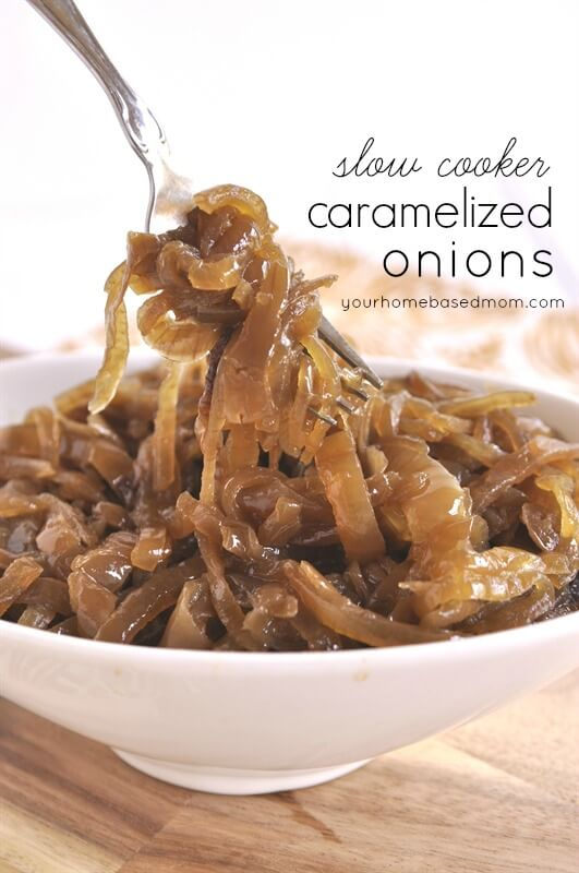 Slow Cooker Caramalized Onions