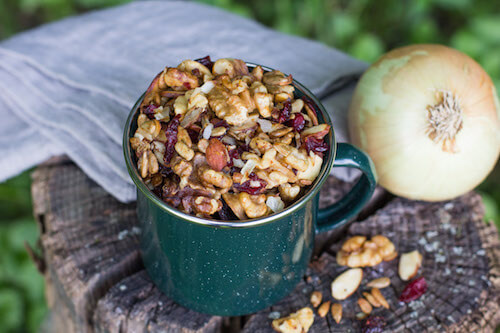 Savory Trail Mix via National Onion Association