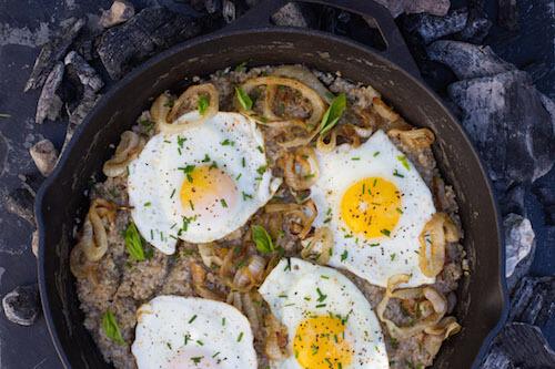 Savory Onion Oatmeal