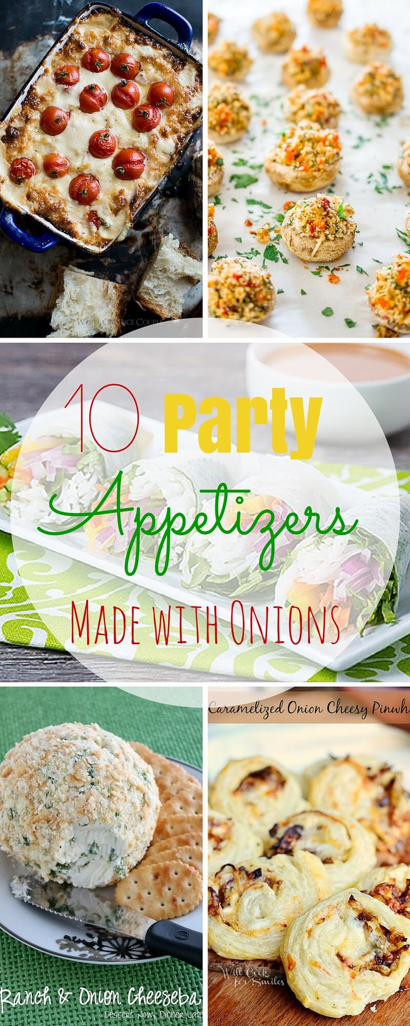 10 Party Appetizers Made with Onions