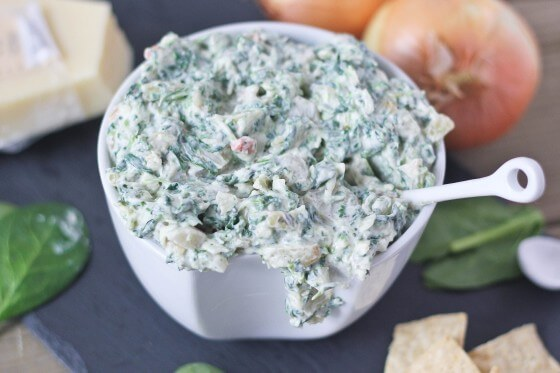 spinach-parmesan-caramelized-onion-dip- bake your day47-560x373