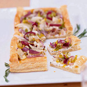 triple-onion-and-cheese-tart-recipe- Women's Day Kitchen