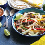 Steak and Onion Fajitas