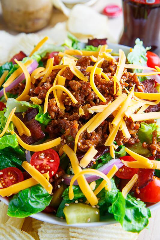 Bacon Cheeseburger Salad 800 7180