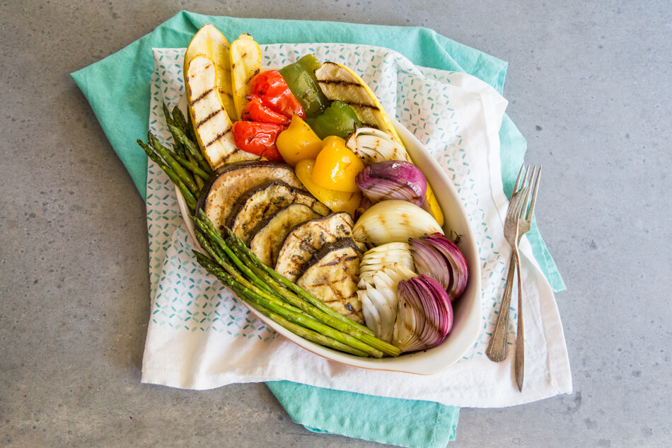 Grilled Vegetable Escalivada