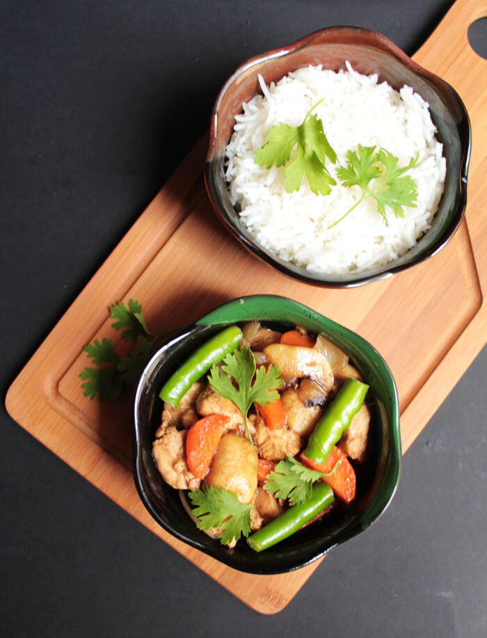 Teriyaki Recipes   Chicken Teriyaki with Vegetables Recipe from I Knead to Eat