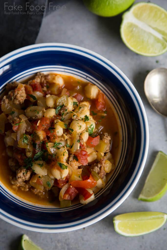 Pozole Pork Hominy Soup
