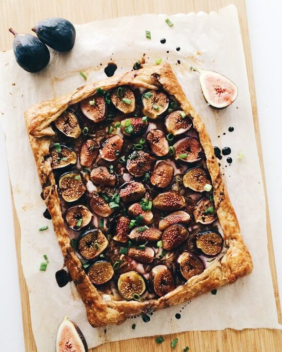Fig, Onion & Labneh Galette