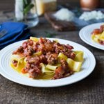 Looking for a fabulous comfort food or savory meal this delicious and easy Lamb Ragu with Pappardelle recipe will check all the boxes.