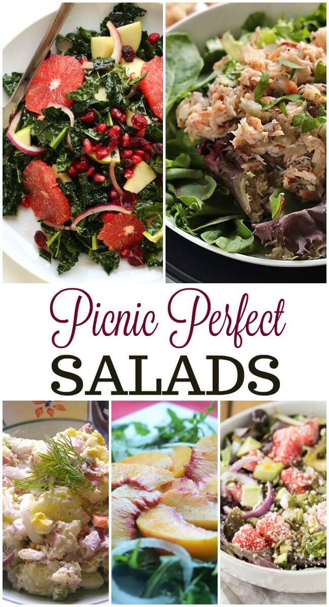 This Summer you'll want to keep the stove and oven off, yet still eat delicious food so the best way to feed everyone is with Picnic Perfect Salads.