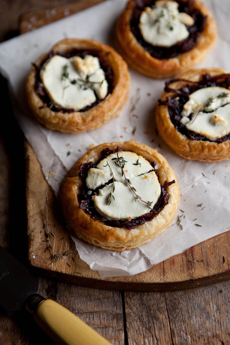 Find a ton of delicious Tarts with Onions