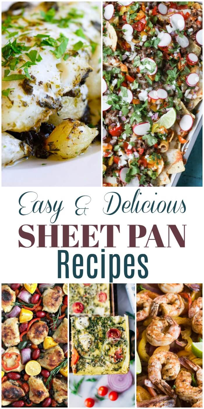 Easy & Delicious Sheet Pan Recipes