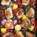 Easy & Delicious Sheet Pan Recipes for busy nights. Easy savory sheet pan meals with onions.