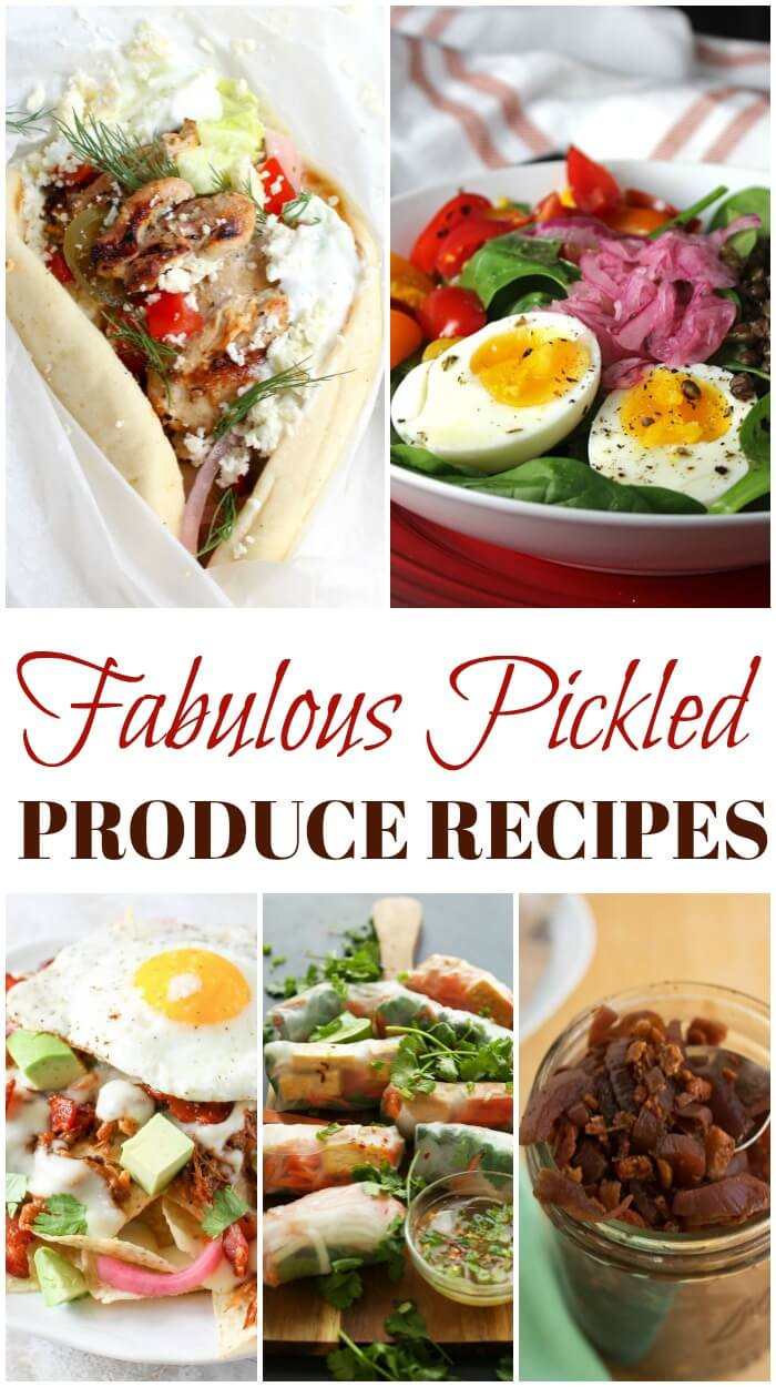 Onions in the Raw – Preserve Summer With These Pickled Produce Recipes #onionsintheraw
