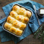 Savory Sweet Potato and Onion Dinner Rolls