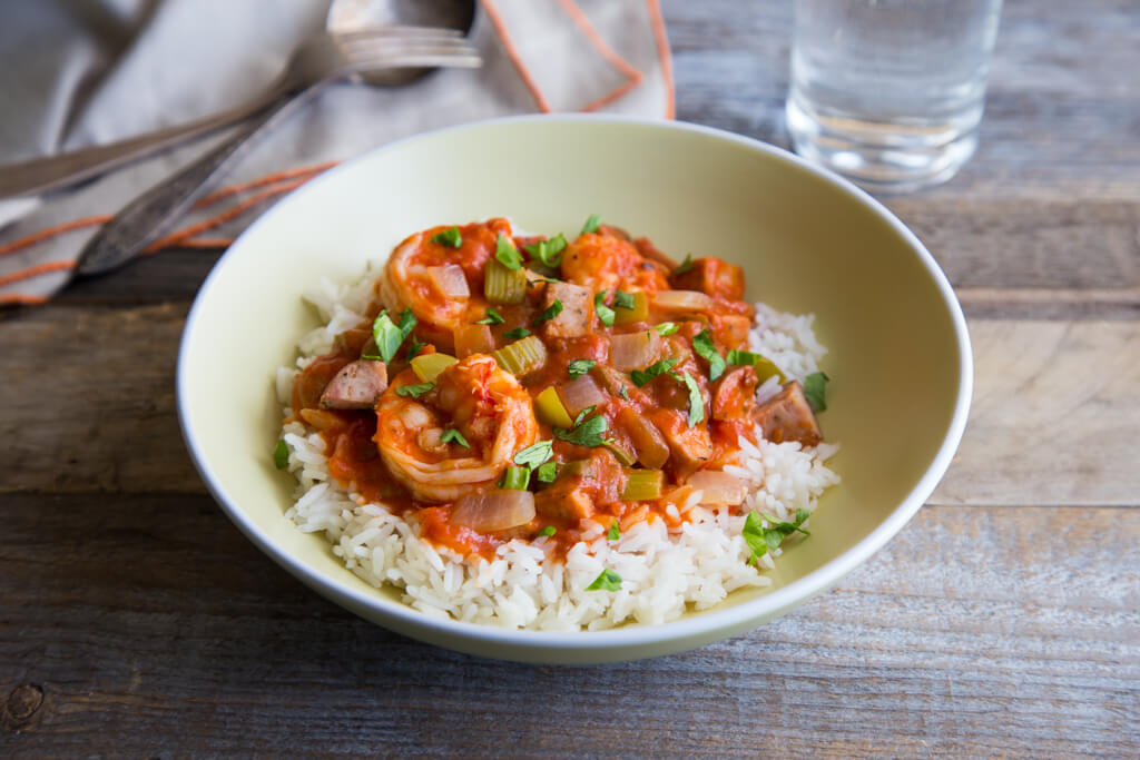 Shrimp and Chicken Sausage Gumbo Recipe from The National Onion Association