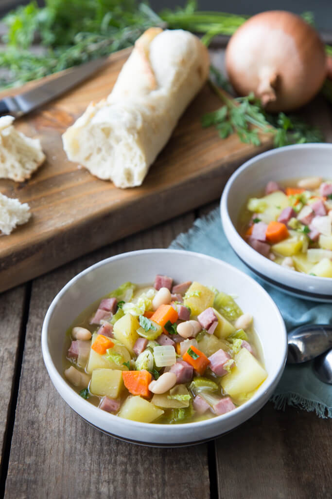 French Ham and Vegetable Stew recipe from The National Onion Association and the Onionista Blog!