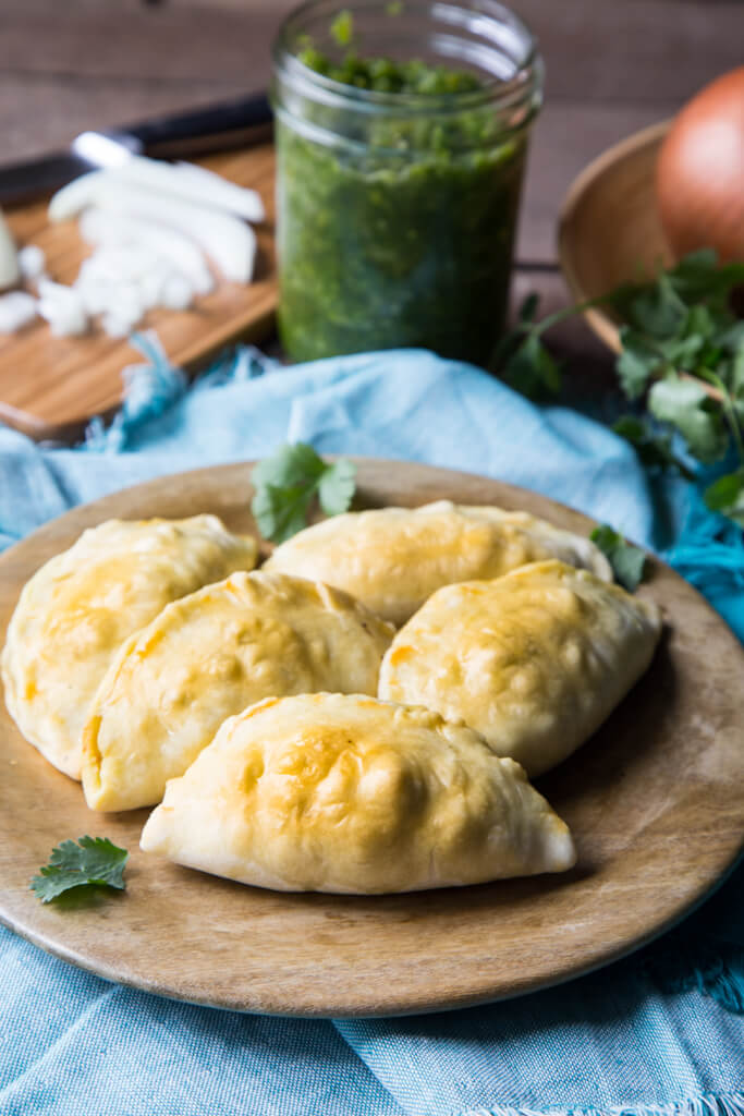 Beef and Onion Empanadas from The National Onion Association