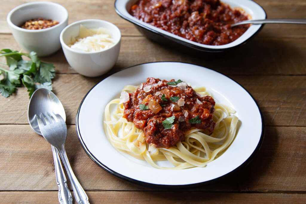 Slow Cooker Bolognese from the National Onion Association