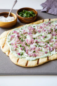 onion flatbread from the National Onion Association