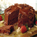 Caramelized Secret Chocolate cake
