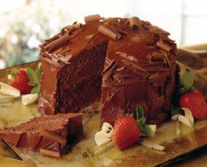 Caramelized Secret Chocolate cake