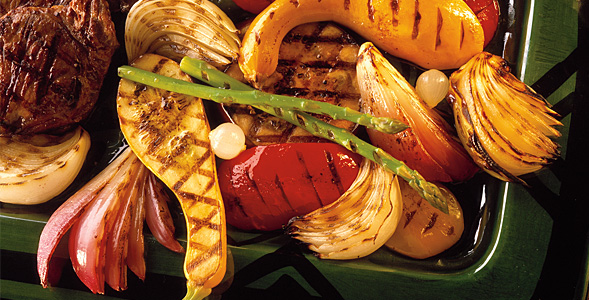 Grilled Vegetables w/ Balsamic Dressing