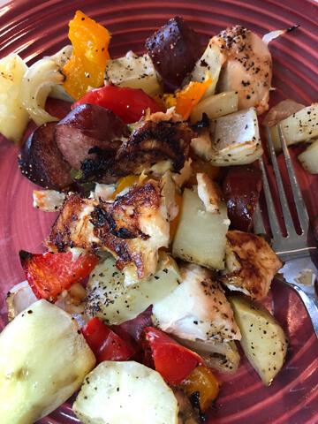 Onion potato recipe