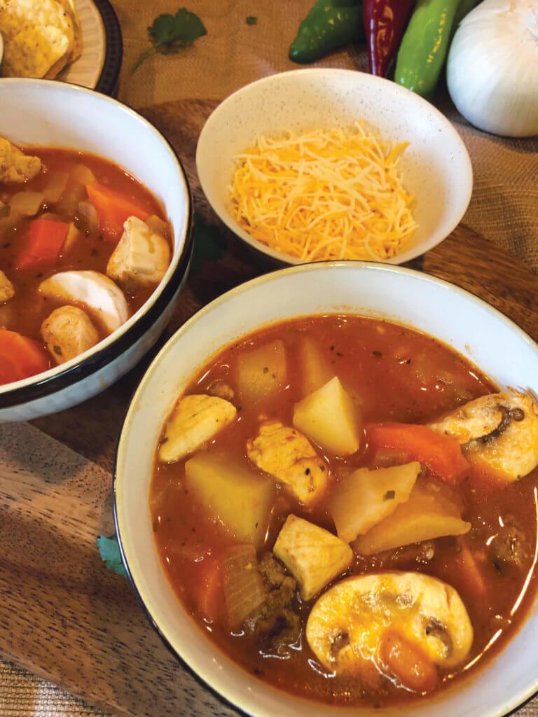Chunky Southwestern Soup