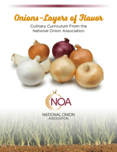 Culinary Curriculum - onions