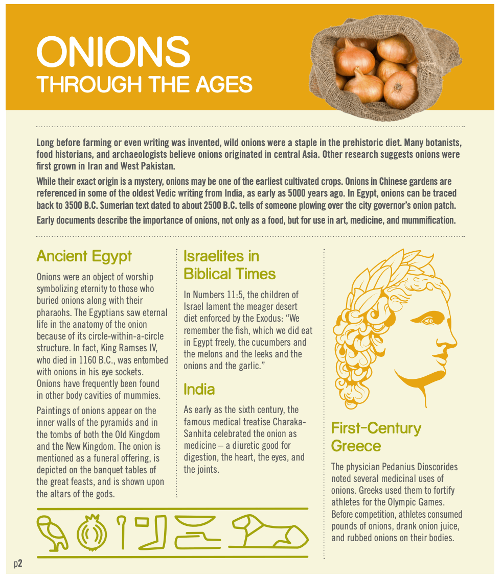 Onion History - National Onion Associaiton