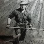 Bob Sakata Irrigating