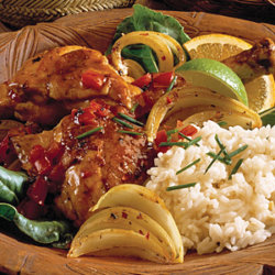 Caribbean Lime Chicken National Onion Association