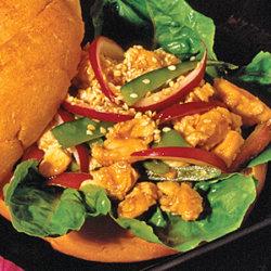 Chinese Chicken Salad Sandwich National Onion Association
