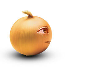 Crying onion