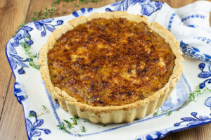 Flemish Onion Tart