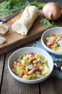 French Ham and Vegetable Stew