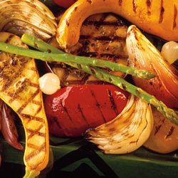 Grilled Vegetables with Balsamic Dressing National Onion Association