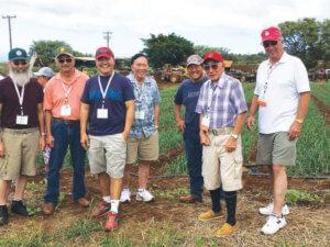 Onion growers in Hawaii