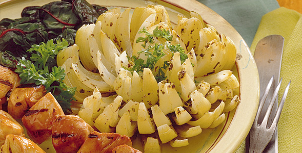 Herb Grilled Onion Bloom National Onion Association