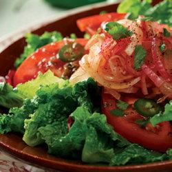 Laredo Salad with Cowboy Marinated Onions National Onion Association