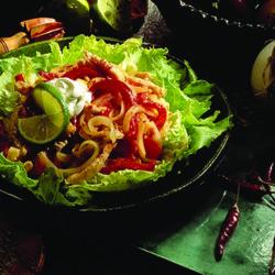 Onion and Turkey Lime Salad National Onion Assocation