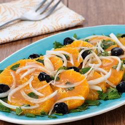 Orange, Mint and Onion Salad National Onion Association