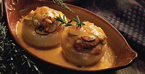 Stuffed Onion - Ratatouille Style National Onion Association