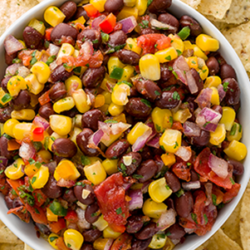 Black Bean & Corn Salsa National Onion Association
