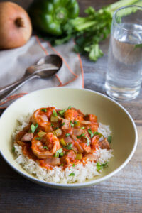 Shrimp and Chicken Sausage Gumbo