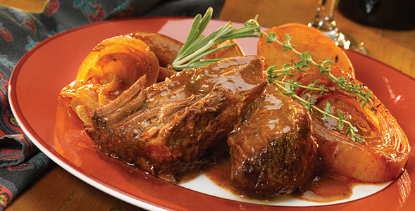 Slow Cooker Pot Roast National Onion Association