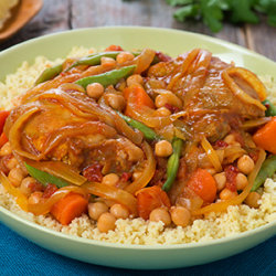 Slow Cooker Chicken and Onion Tagine National Onion Association