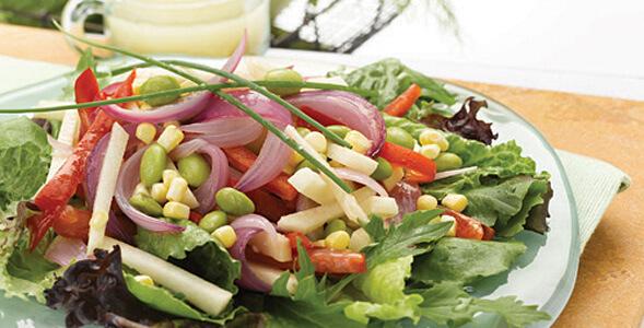 Sweet Onion Veggie Salad National Onion Association