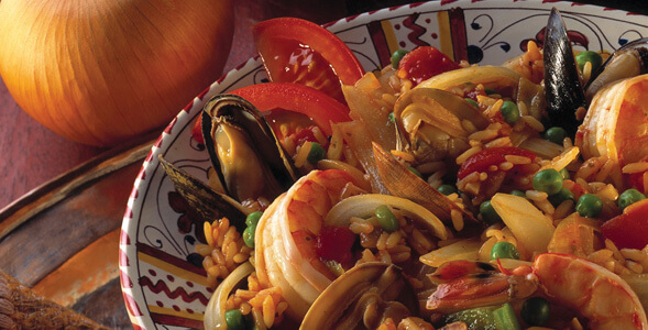 Coastal Spanish Paella National Onion Association